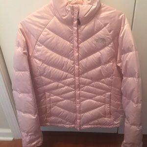 Women's North Face Aconcagua jacket.